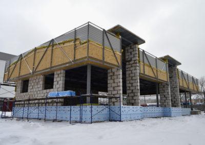 Кафе пр-т Текстильщиков, Иваново.  S=324м2, m=19,611 тонн