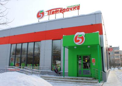 Строителей 96В, Иваново.  S=432м2, m=13,85 тонн