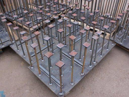 Закладные детали для бетонирования монолитов