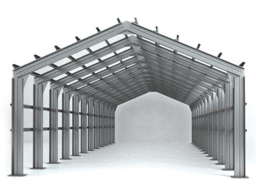 Элементы быстровозводимых зданий (фермы, прогоны, колонны, связи)