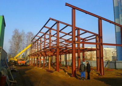 строительные конструкции автотехцентры 00001