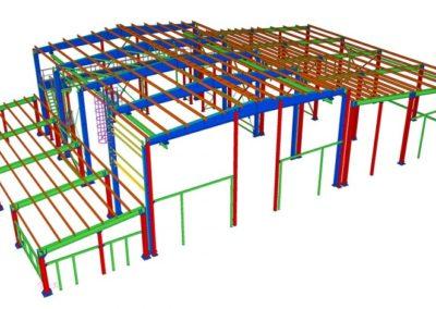 строительные конструкции автотехцентры 00009