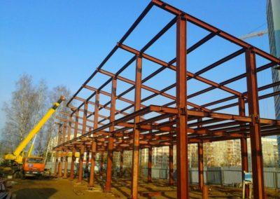 строительные конструкции автотехцентры 00015